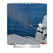 Uss Harry S. Truman Tests The Close-in Shower Curtain