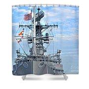 U.s.s. Little Rock Shower Curtain