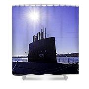 U.s.s. Nautilus Shower Curtain