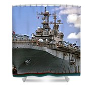 Uss Peleliu Shower Curtain