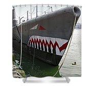 Uss Torsk Ss-423 Shower Curtain
