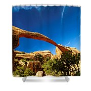 Utah Arches National Park  Shower Curtain
