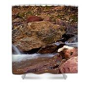 Utah Creek Cascades Shower Curtain