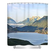 Utah Dawn Shower Curtain