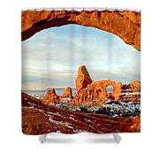 Utah Golden Arches Shower Curtain