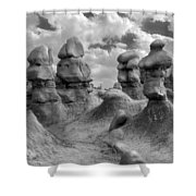 Utah Outback 23 Shower Curtain
