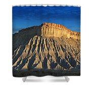 Utah Outback 40 Panoramic Shower Curtain