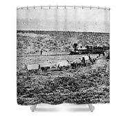 Utah Railroad, 1869 Shower Curtain