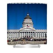 Utah State Capitol Building Shower Curtain