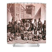 Ute Indians Denver Exposition Shower Curtain