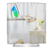 Utility Room Shower Curtain