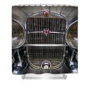 V 16 Cadillac Shower Curtain