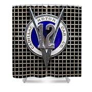 V12 Shower Curtain