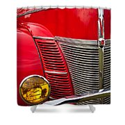 V8 - Another View Shower Curtain