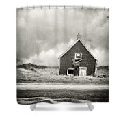 Vacation Rental Shower Curtain by Edward Fielding