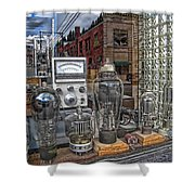 Vacuum Tubes And Diodes - Wallace Idaho Shower Curtain