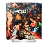 Vaga's The Nativity Shower Curtain