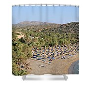 Vai Beach Shower Curtain