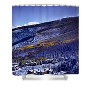 Vail Sunrise Shower Curtain