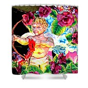 Val-n-time 1953 Shower Curtain