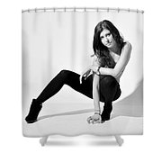 Val1 Shower Curtain