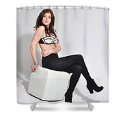 Val4 Shower Curtain