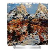 Valbona 2015 Shower Curtain
