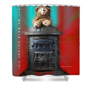 Valentine Shall We Warm Things Up Shower Curtain
