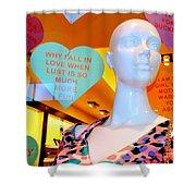 Valentine Vixen Shower Curtain