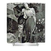 Valentines Day, 1898 Shower Curtain