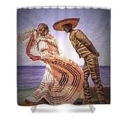 Vallarta Dancers Shower Curtain