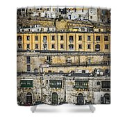 Valletta Malta Shower Curtain