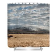 Valley Clouds Shower Curtain