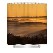 Valley Fog Shower Curtain