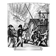 Valley Forge, 1777 Shower Curtain