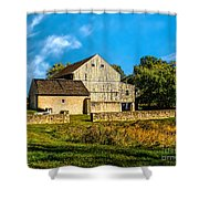 Valley Forge Barn Shower Curtain