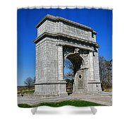 Valley Forge National Memorial Arch Shower Curtain