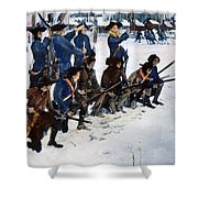 Valley Forge: Steuben, 1778 Shower Curtain
