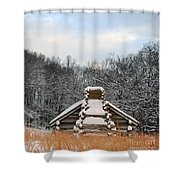 Valley Forge Winter 1 Shower Curtain