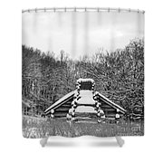 Valley Forge Winter 13  Per Request Shower Curtain