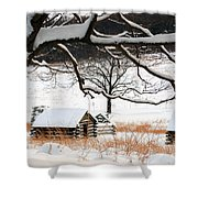 Valley Forge Winter 14 Shower Curtain