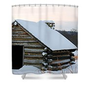 Valley Forge Winter 2 Shower Curtain