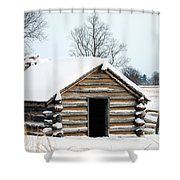 Valley Forge Winter 3 Shower Curtain