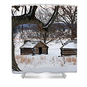 Valley Forge Winter 6 Shower Curtain