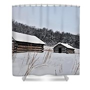 Valley Forge Winter 7 Shower Curtain