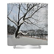 Valley Forge Winter 9 Shower Curtain