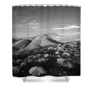 Valley Height Shower Curtain