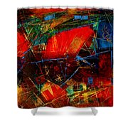 Valley  In  Provence Shower Curtain