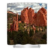 Valley In The Sun Shower Curtain