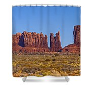 Valley Monuments  Shower Curtain